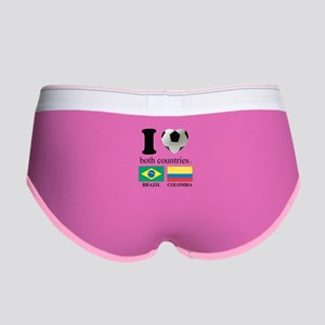 BRAZIL-COLOMBIA Women's Boy Brief